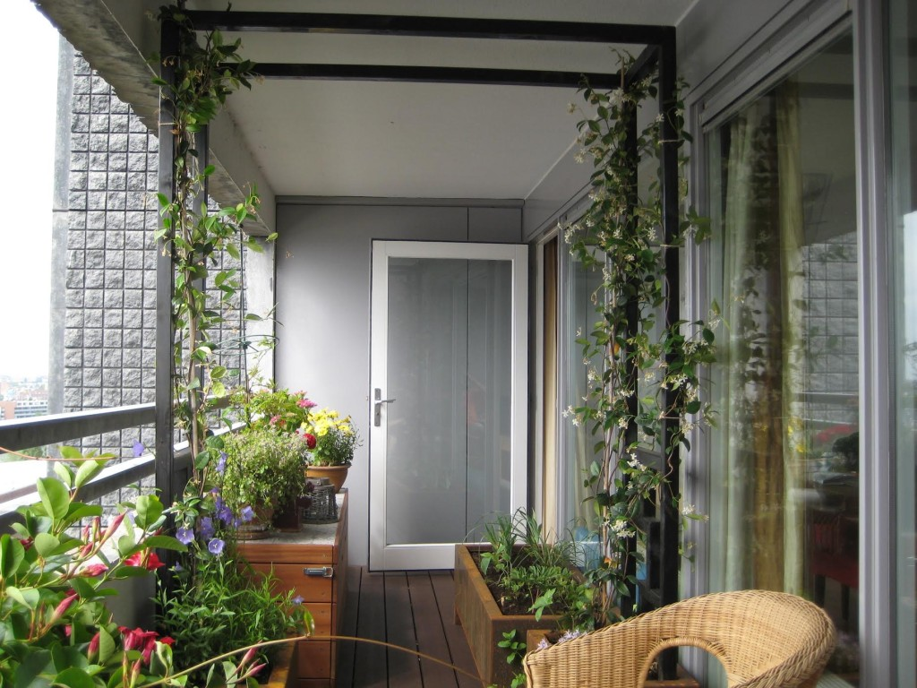 Balkon. Amsterdam KNSM 2