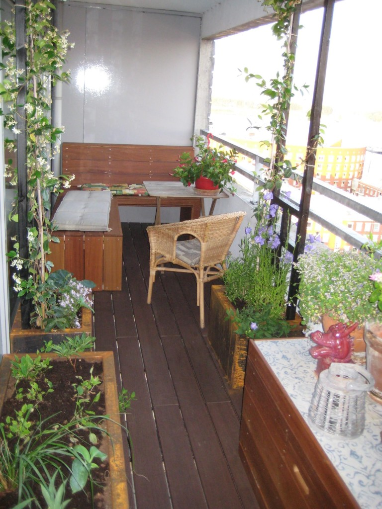Balkon. Amsterdam KNSM 3